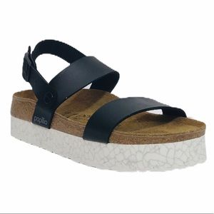 Birkenstock Papillio Slingback Platform Sandals 7